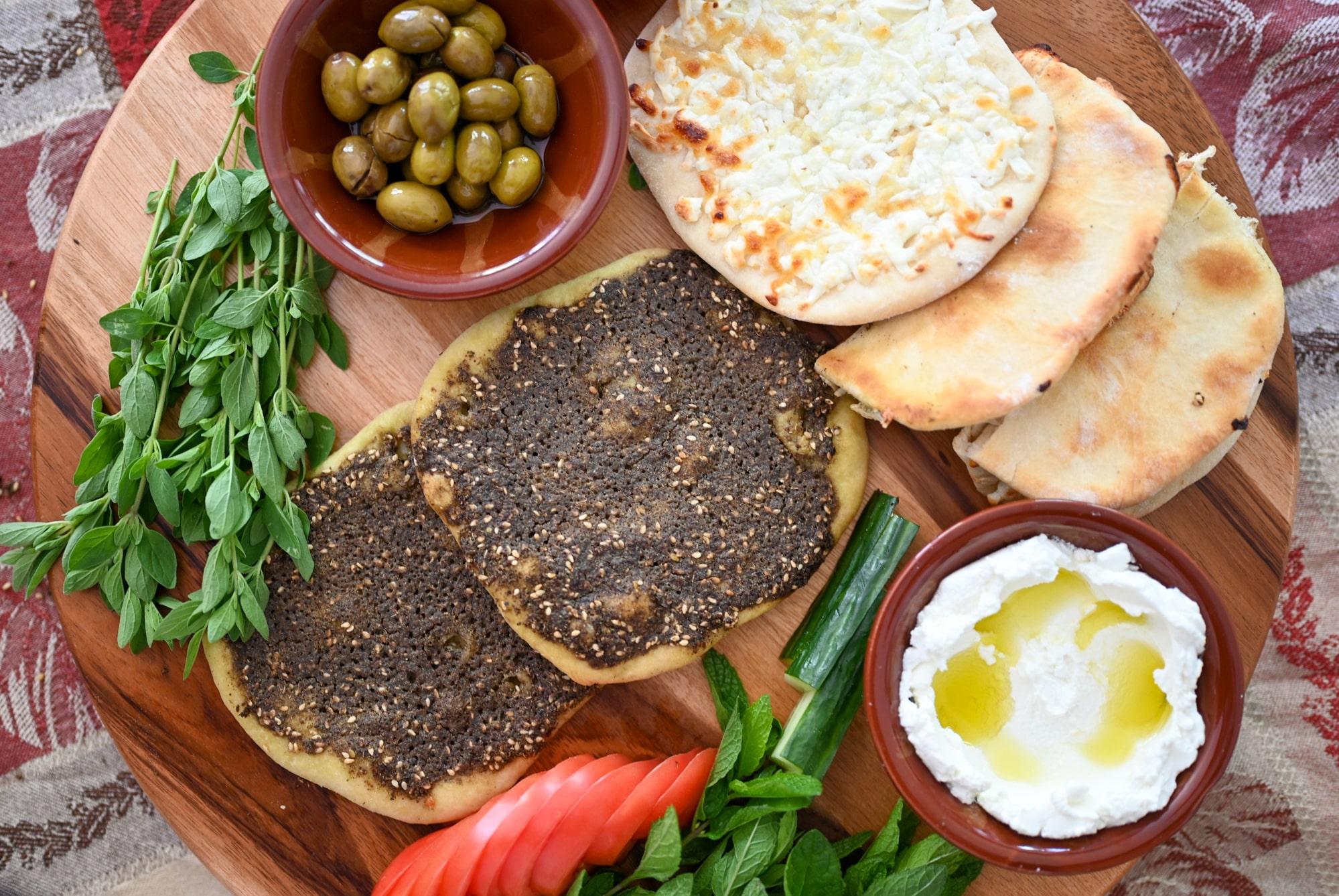 Manakeesh - Simply Lebanese